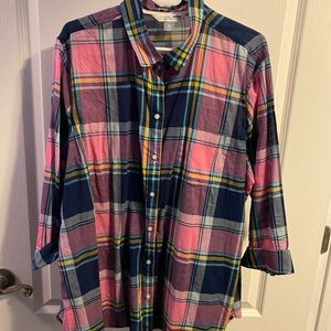 Plaid Classic Shirt